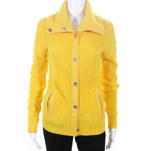 Lauren Ralph Lauren Sweaters - Lauren Ralph Lauren yellow cotton cardigan